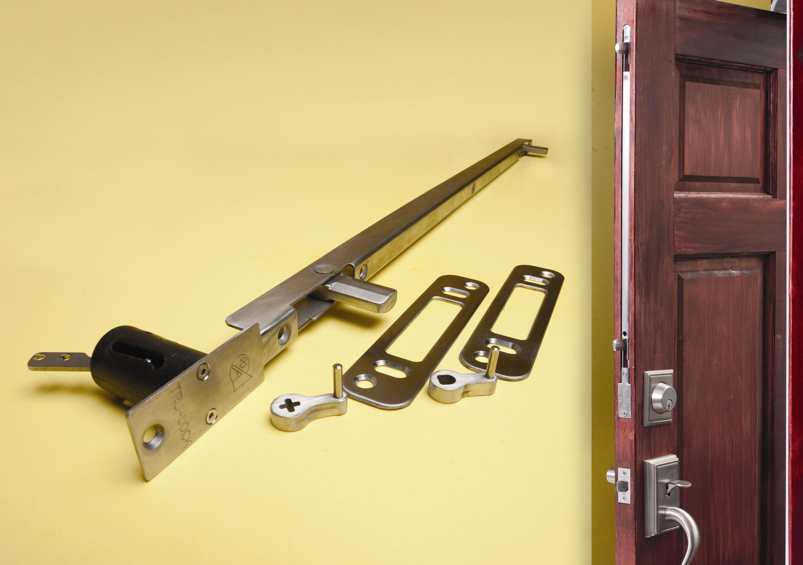 Amesbury group to introduce numerous new products at win for Salt air resistant door hardware